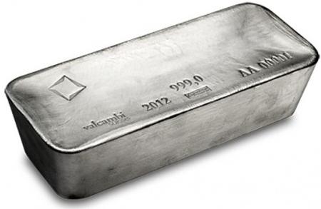 1000 troy ounce zilverbaar btw vrij zilver