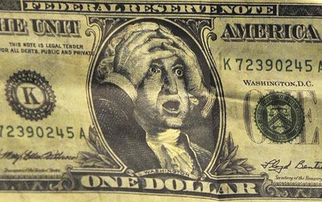 Geldontwaarding dollar biljet