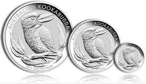 Kookaburra munten van de Perth Mint