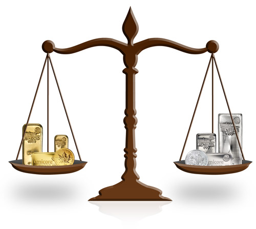 Productkeuze goud en zilver