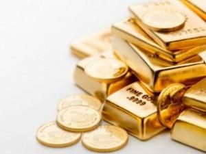goud munten baren