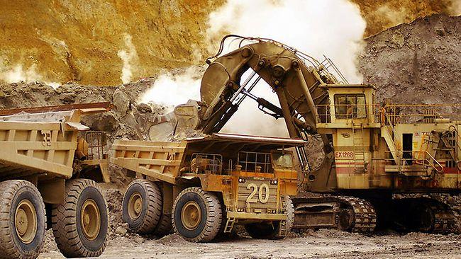 Goudproductie goudmijn