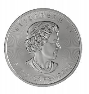 Nieuwenverbeterd:zilverenMapleLeafmunt