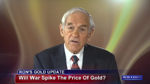 Ron Paul over de invloed van Oekraine op de goudprijs