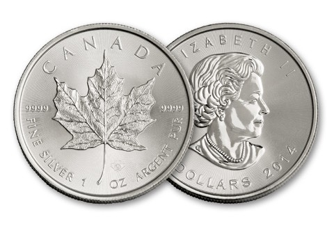 2014-zilveren-maple-leaf