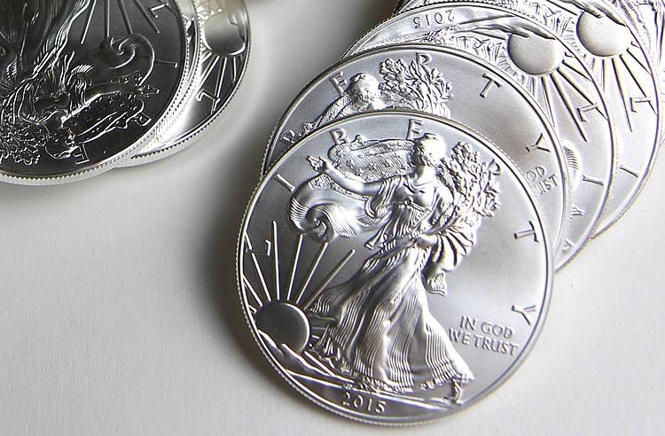 US Mint gaat jaar goed van start met verkoop Silver Eagle munten