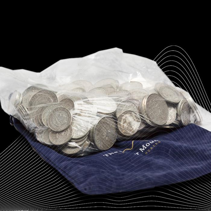 Aanbieding: Nederlands zilver muntgeld te koop tegen verlaagde prijs