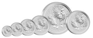 ZilverenLunarmuntennuopvoorraad