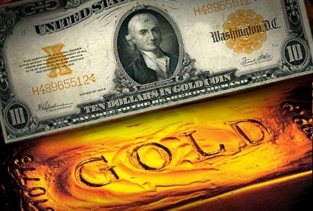 goud en dollars
