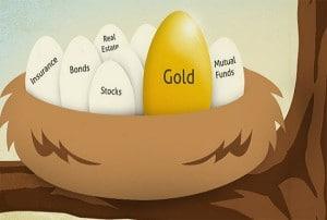 goud in portefuille