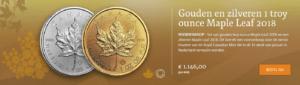 GoudenenzilverenMapleLeafmuntenbeschikbaar