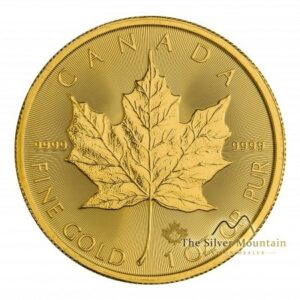 1 troy ounce gouden maple leaf munt