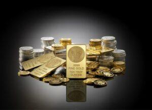 gouden munten VS goudbaren