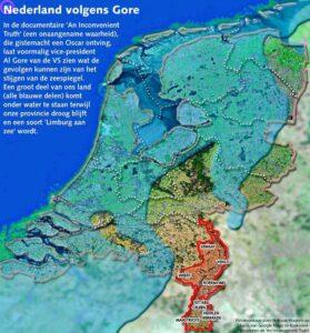 Zeespiegel Nederland
