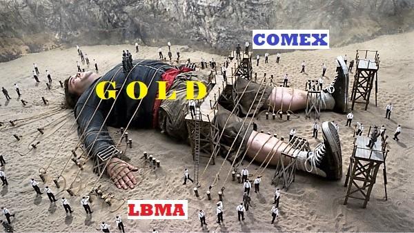 Goud Comex LBMA